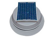 10 Watt Solar Attic Fan by Natural Light