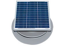 30 Watt Solar Attic Fan by Natural Light